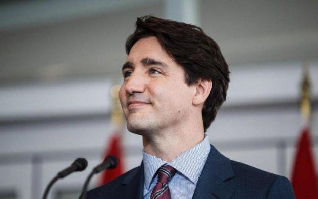 Немного промазал: как канадский премьер штаны обмочил