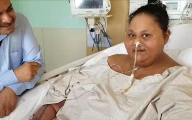 Самая полная женщина в мире похудела на 300 кг