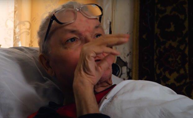 Скрін, відео YouTube пенсіонерка