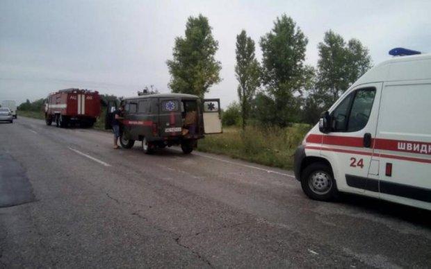 Четыре машины всмятку: кровавое ДТП в Киеве унесло несколько жизней