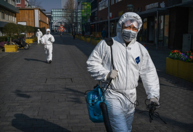 коронавирус в Китае, фото: gettyimages