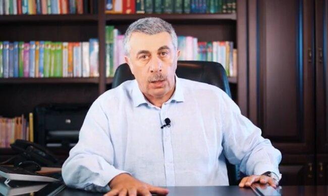 Евгений Комаровский, скріншот из видео
