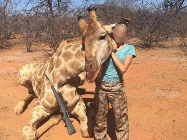 Юная американка поклялась отстреливать животных из-за критики
