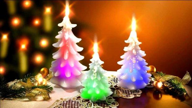 Новогодние приметы: символичность свечей
