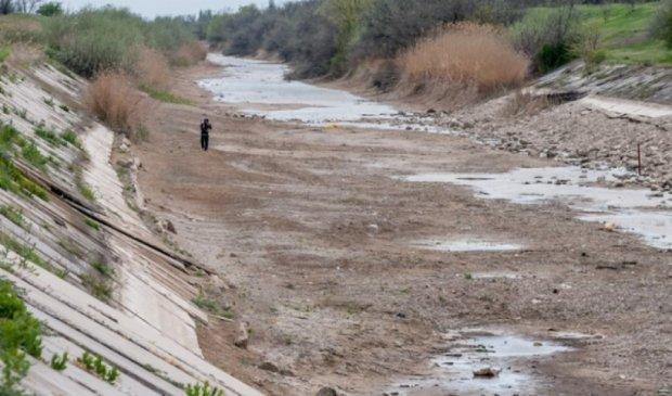 Северо-Крымский канал пересох и разрушается