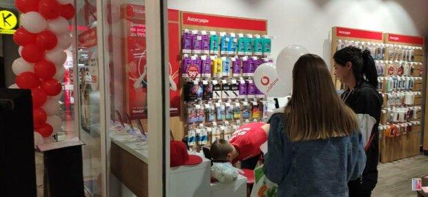 Vodafone, фото: скріншот з відео
