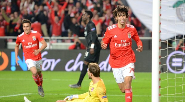 Новый Роналду из Бенфики стал самым молодым автором хет-трика в Лиге Европы