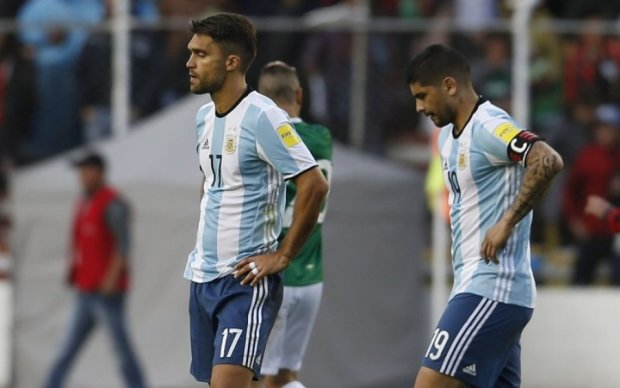 Отбор ЧМ-2018: Аргентина уступила Боливии, Уругвай проиграл Перу и другие результаты в Южной Америке