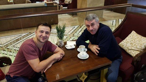 Владимир Зеленский и доктор Комаровский