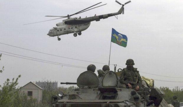 Сбитый украинский вертолет под Артемовском - фейк