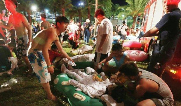 Кількість жертв вибуху у тайванському аквапарку зросла до 516 осіб