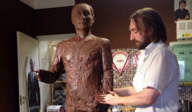 Шоколадний Путін може потрапити до книги рекордів Гіннесса (фото)