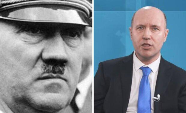 Руслан Бизяев и Адольф Гитлер