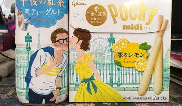 Японські маркетологи зробили їжу та напої нерозривними (фото)