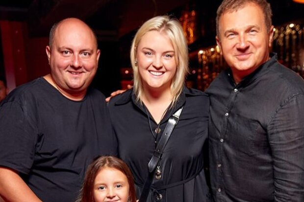 Юрій Ткач з сім'єю та Юрій Горбунов, instagram.com/kvartal95official
