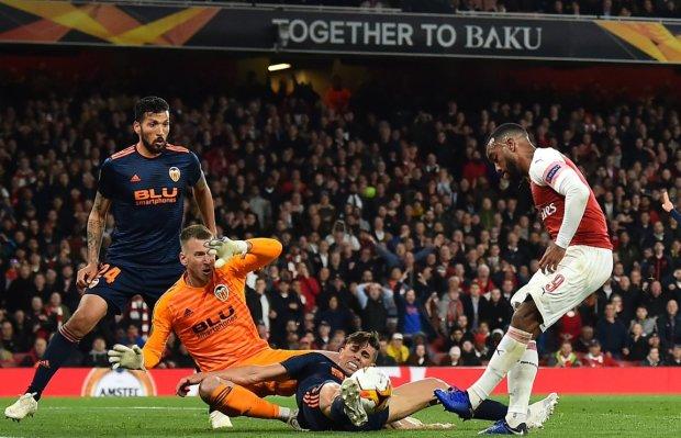 Арсенал закамбэчил в матче Лиги Европы и приблизился к финалу