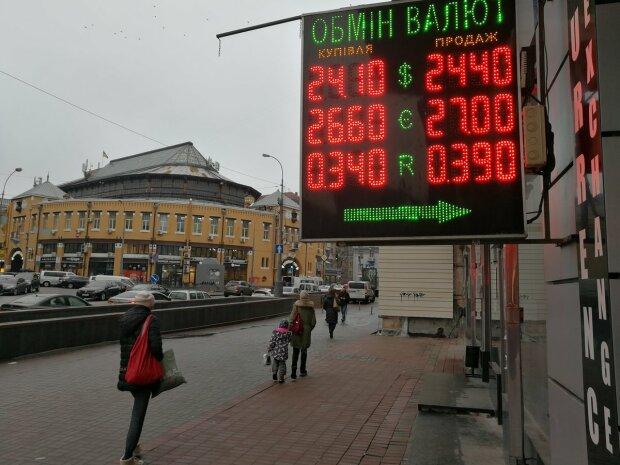 Обмін валют, фото: Факти
