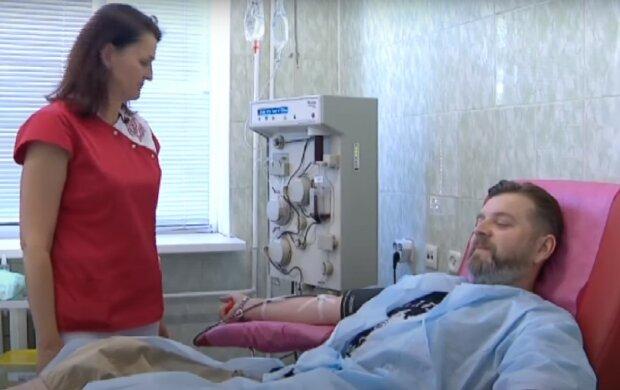 донорство, скріншот з відео
