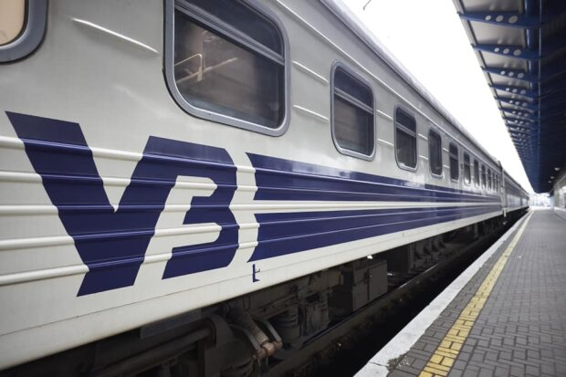 Поїзд / фото: Укрзалізниця