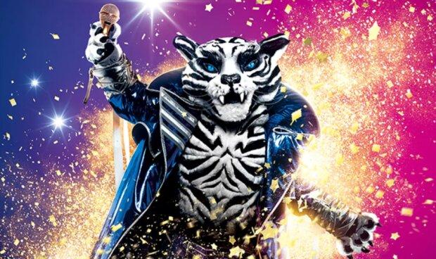 """Белый Тигр – новый персонаж на шоу """"Маска"""" / Фото: телеканал """"Украина"""""""