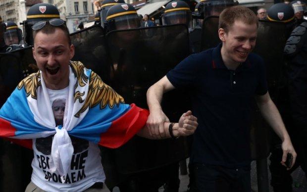 Британские СМИ шокированы драками российских фанатов перед ЧМ-2018