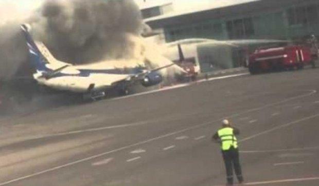 У Сімферополі загорівся пасажирський літак