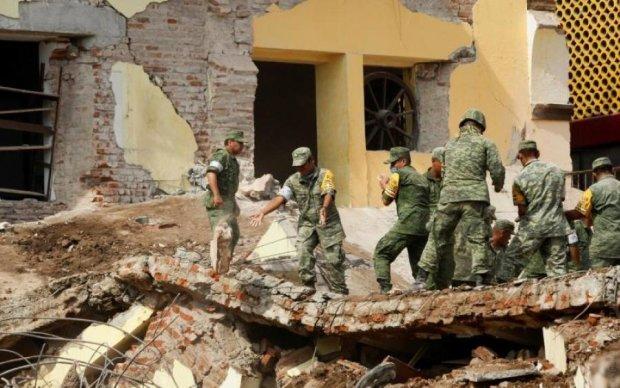 Стихія біснується: новий землетрус сколихнув Мексику
