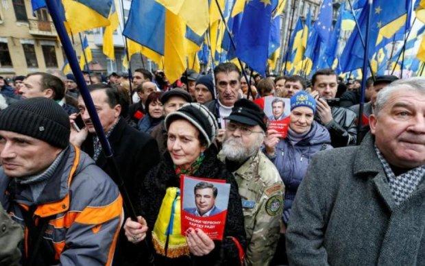 Задержание Саакашвили: Киев захлестнули протесты