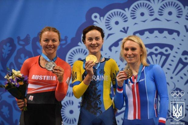 Ганна Соловей тріумфально виграла велогонку на очкии і стала чемпіонкою Європейських ігор