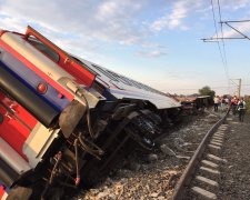 аварія на залізниці