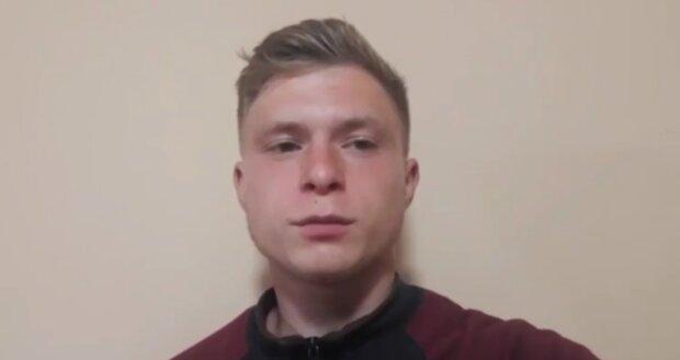 16-летний харьковчанин, скриншот: Telegram