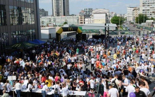 Спортивна столиця: кияни відзначили Олімпійський день