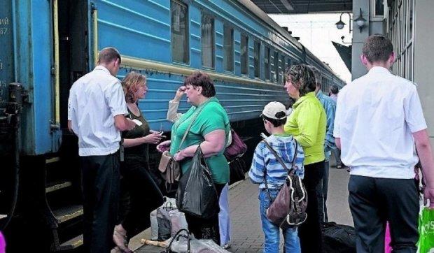 Киевские проводники торгуют подделками
