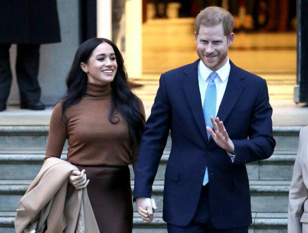 Меган Маркл и принц Гарри, фото: Elle