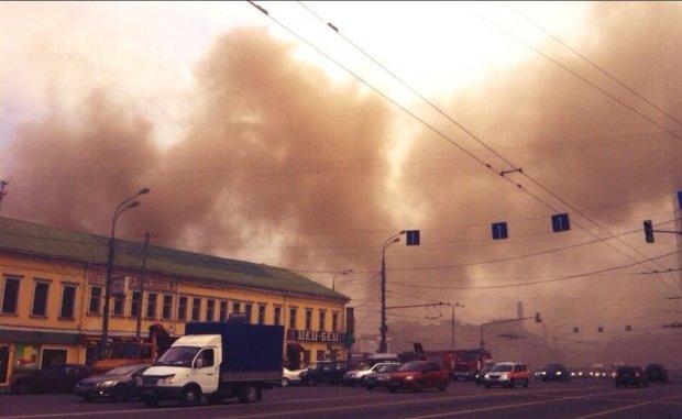 Центр Москвы объят огнем: все как в пророчествах Ванги, владения Путина в черном дыму