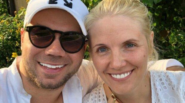 Андре Тан с бывшей женой, фото: Instagram