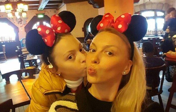 Полякова з донькою, фото Instagram