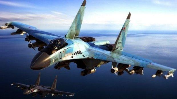 Россия разместила на границе 500 боевых самолетов