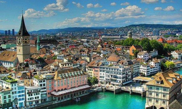 Цюрих визнали найчистішим містом в Європі