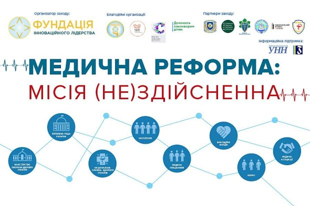 """7 листопада 2018 року в Києві відбудеться медичний форум """"Медична реформа: місія (не) здійсненна"""""""