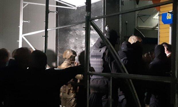 """Столкновения на """"7 километре"""", фото: """"Думская"""""""