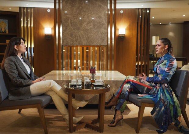 Рамін Есхакзай і Юлія Саніна, скрін з відео