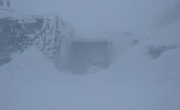Снег в Карпатах: Facebook Василий Фицак