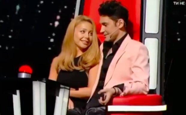 Тина Кароль и Дан Балан, скриншот из youtube