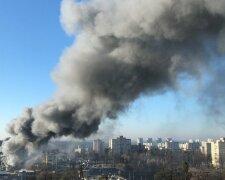 Пожар в Киеве, фото: Информатор