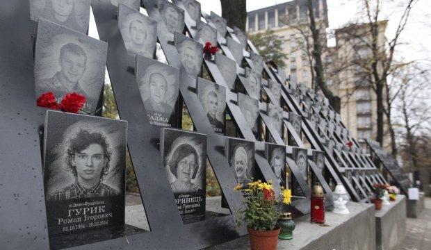 Просто на Майдані, на очах у перехожих: вандали спаплюжили героїв Небесної сотні і воїнів АТО, моторошні кадри