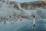 Катание на озере, фото facebook