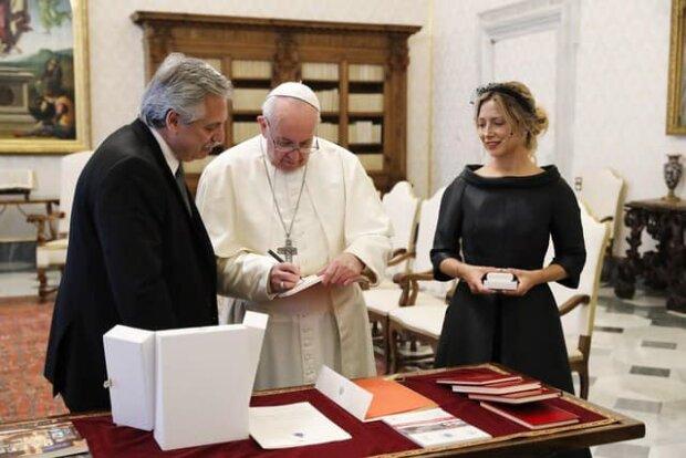 Президентське подружжя Аргентини у Ватикані
