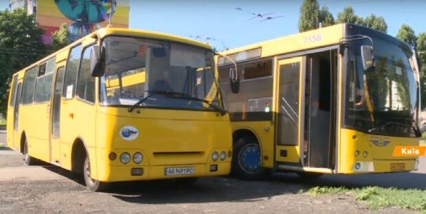 транспорт, скрин из видео
