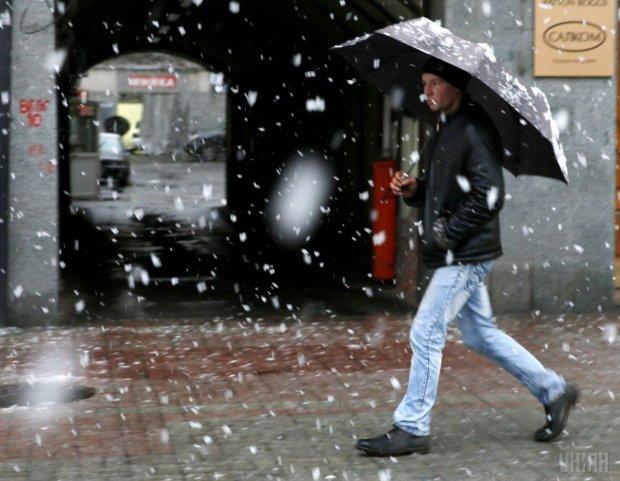 Погода на 7 грудня: дощі і сніг напали з двох боків